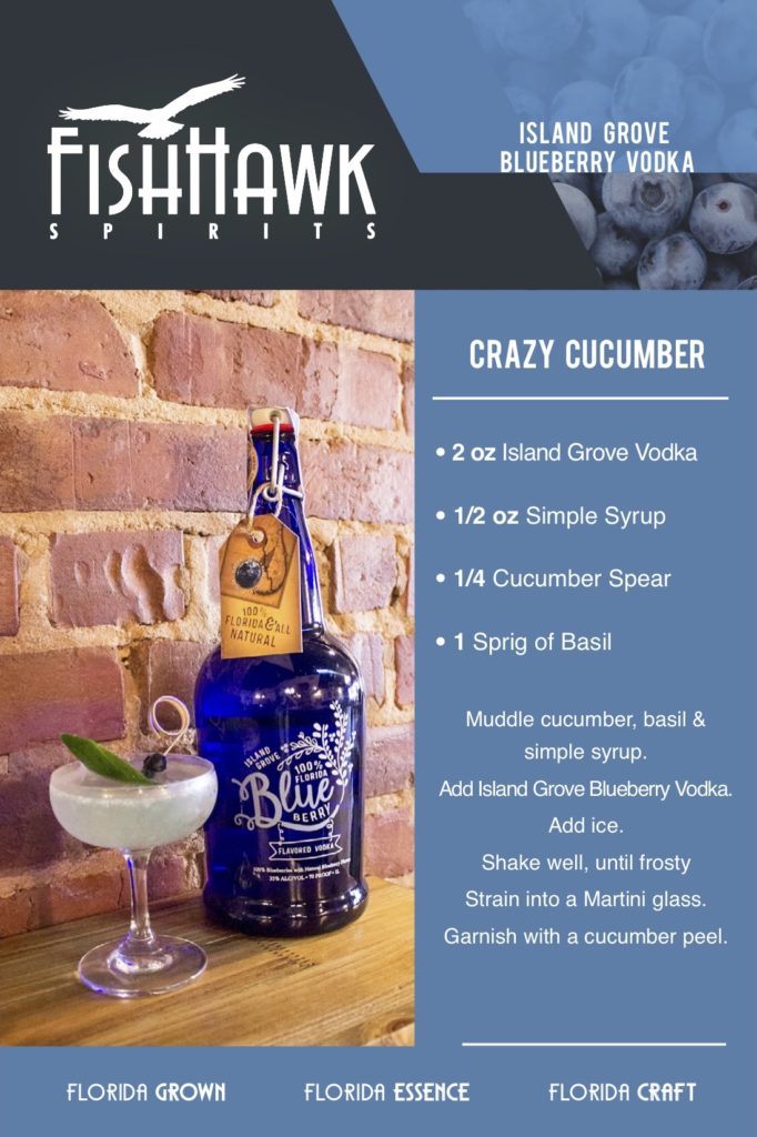 Island Grove Blueberry Vodka Crazy Cucumber Recipe